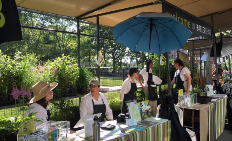 Pvilion Designs Battery Conservancy Stands