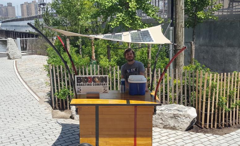 Brooklyn Roasting Co. Coffee Cart!