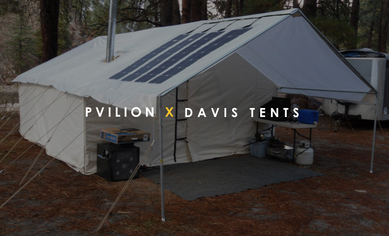 Davis Tent and Awnings: Escape and go off grid