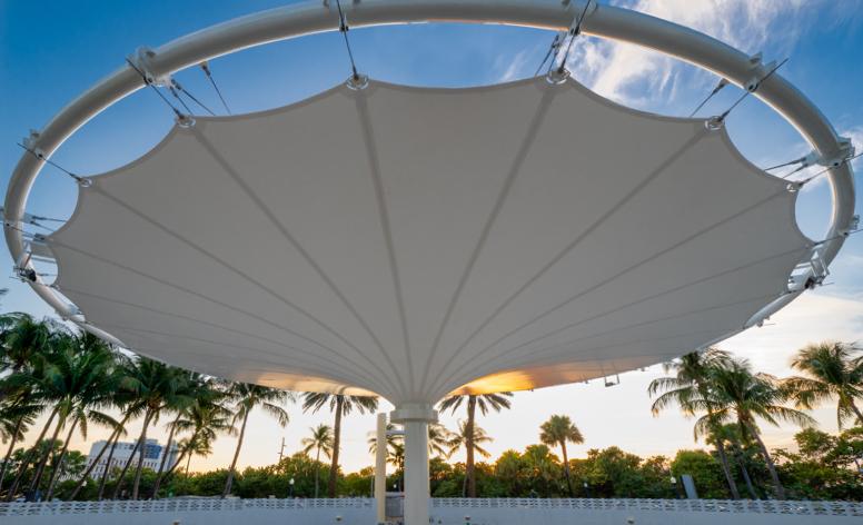 Miami Beach Bandshell Canopy