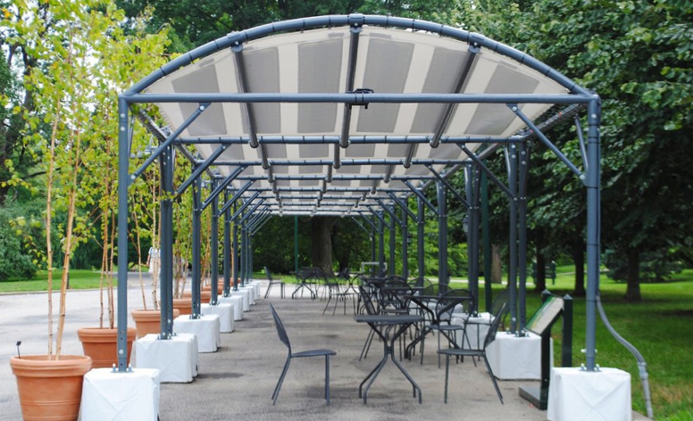 Pvilion Solar Canopies at The New York Botanical Garden