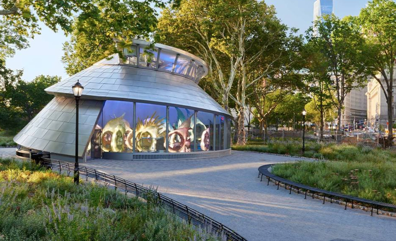Shading and Powering Seaglass Carousel Park