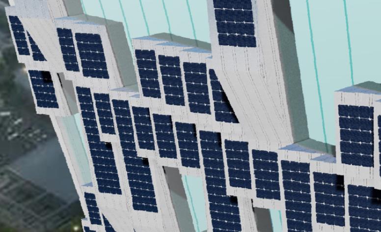 Pvilion x CL Talon Solar Facades