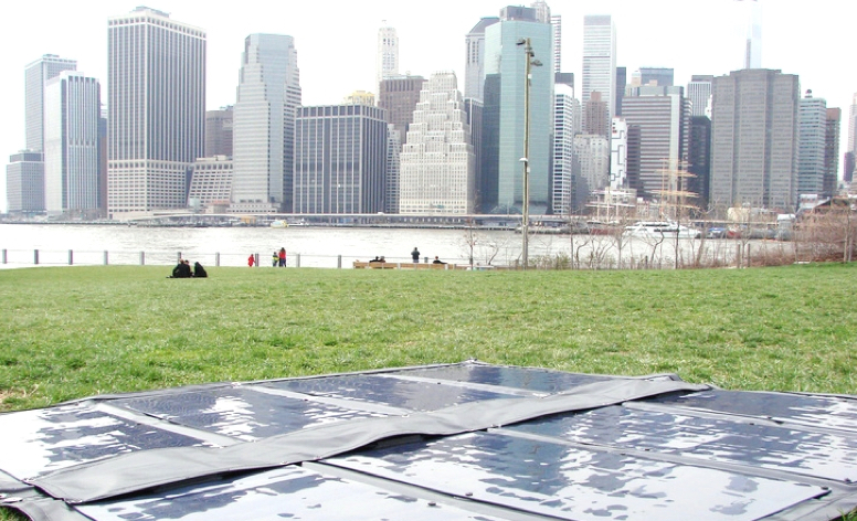 Fold-Up Solar Charger