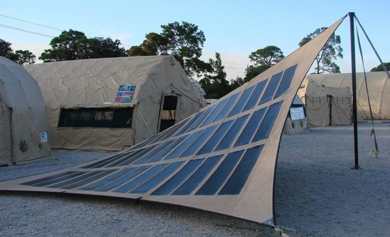Military Solar Structures