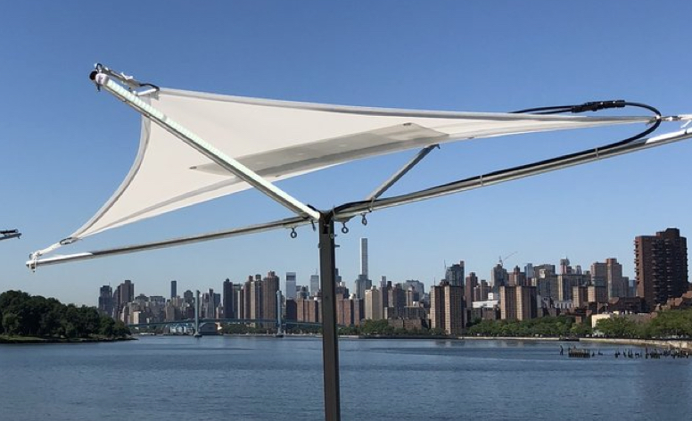 Solar Charging Station for Corporate Event on Randalls Island